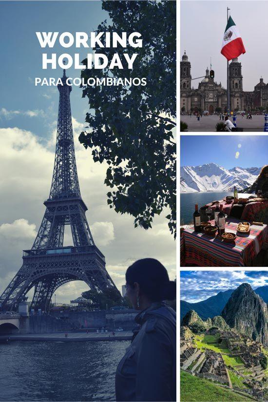 vacaciones y trabajo visa colombianos